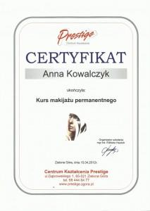 Kurs makijażu permamentnego